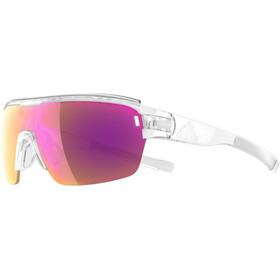 adidas Zonyk Aero Pro Cykelglasögon violett/transparent